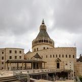 Basiliek van de Aankondiging, Kerk van de Aankondiging, Nazareth Royalty-vrije Stock Afbeeldingen