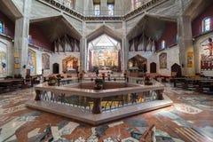 Basiliek van de Aankondiging in Nazareth stock foto