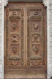 Basiliek van de deur van Croce van de Kerstman Royalty-vrije Stock Foto