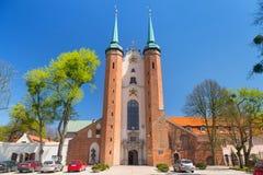 Basiliek van de Heilige Drievuldigheid in Gdansk Oliwa Royalty-vrije Stock Afbeelding