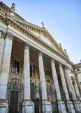 Basiliek van Heilige Eustorgio Milaan, Lombardije, Italië stock foto's