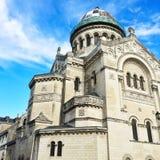 Basiliek van Heilige Martin in Reizen, Frankrijk Royalty-vrije Stock Foto
