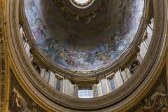 Basiliek van heilige Peter, de stad van Vatikaan, Vatikaan Stock Foto's