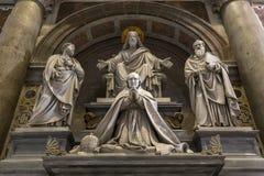 Basiliek van heilige Peter, de stad van Vatikaan, Vatikaan Royalty-vrije Stock Foto's