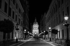 Basiliek van Heilige Stephen in Boedapest, Hongarije Stock Fotografie