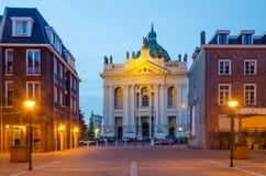 Basiliek van Heiligen Agatha en Barbara in Oudenbosch Stock Afbeelding