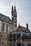Basiliek van het Heilige Bloed, Brugge, België stock foto