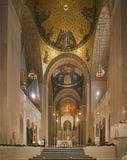 Basiliek van het Nationale Heiligdom van de vlekkeloze Conceptie Stock Afbeeldingen