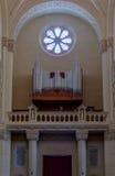 Basiliek van het Orgaan van Ta Pinu Stock Foto's