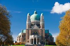 Basiliek van Koekelberg Royalty-vrije Stock Afbeeldingen