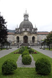 Basiliek van Loiola in Azpeitia (Spanje) royalty-vrije stock foto's