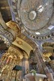 Basiliek van Loiola in Azpeitia (Spanje) royalty-vrije stock afbeelding