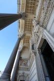 Basiliek van Notre-Dame DE Fourvière, details lyon Royalty-vrije Stock Foto's