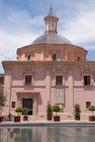 Basiliek van Onze Dame van Achtergelaten in Valencia Royalty-vrije Stock Fotografie