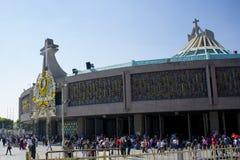 Basiliek van Onze Dame van Guadalupe Stock Afbeeldingen