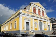 Basiliek van pointe-a-Pitre, Caraïbisch Guadeloupe, stock afbeeldingen