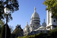 Basiliek van Sacré Coeur Royalty-vrije Stock Foto