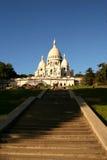 Basiliek van Sacre Coeur stock afbeeldingen