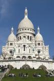 Basiliek van Sacre Coeur Stock Foto
