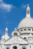 Basiliek van sacre-Coeur in Montmartre Stock Fotografie