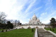 Basiliek van Sacre Coeur in Parijs Stock Foto