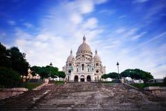 Basiliek van Sacre Coeur, Parijs stock fotografie