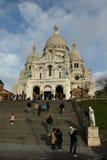 Basiliek van Sacre Coeur, Parijs Royalty-vrije Stock Afbeelding