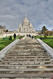 Basiliek van Sacre Coeur, Parijs Stock Afbeelding