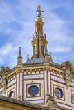Basiliek van San Gervasio e Protasio in Rapallo, Italië stock afbeeldingen