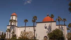Basiliek van San Juan Capistrano Stock Afbeeldingen