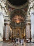 Basiliek van San Pietro in de stad van Vatikaan in Rome Stock Afbeeldingen