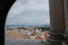 Basiliek van San Pietro in de stad van Vatikaan in Rome Royalty-vrije Stock Fotografie