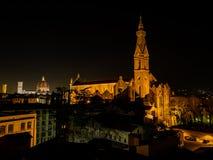Basiliek van Santa Croce in Florence, Italië royalty-vrije stock foto's