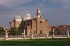 Basiliek van Santa Giustina royalty-vrije stock foto's