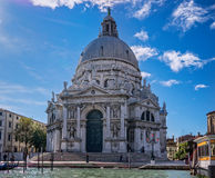 Basiliek van Santa Maria della Salute in Venetië Royalty-vrije Stock Afbeelding