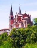 Basiliek van Santa Maria la Real de Covadonga Royalty-vrije Stock Fotografie