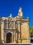 Basiliek van Santa Maria Reales Alcazares in Ubeda, Spanje royalty-vrije stock afbeeldingen