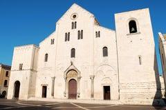 Basiliek van Sinterklaas in Bari, Italië royalty-vrije stock afbeeldingen