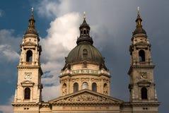 Basiliek van St. Istvan in Boedapest Stock Afbeeldingen