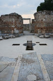 Basiliek van St. John, Ephesus Stock Foto