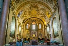 Basiliek van St Mary van de Engelen en de Martelaren in Rome, Italië royalty-vrije stock foto's