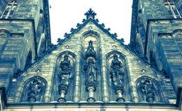 Basiliek van St Peter en St Paul Church, Praag, Tsjechische Republiek Stock Afbeelding