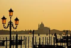 Basiliek in Venetië stock foto's