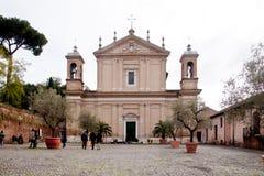 Basiliekdi Sant'Anastasia al Palatino Royalty-vrije Stock Afbeeldingen