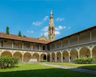 Basiliekdi Santa Croce. Florence, Italië royalty-vrije stock fotografie