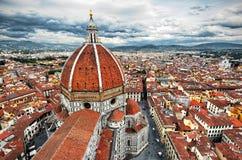 Basiliekdi Santa Maria del Fiore, Duomo, in Florence royalty-vrije stock foto's