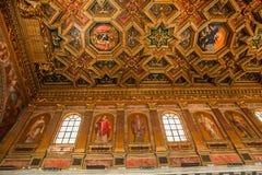Basiliekdi Santa Maria in Trastevere, Rome, Italië Royalty-vrije Stock Afbeelding