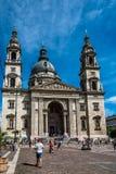 Basiliekkathedraal van St Stephen een zonnige dag van de zomer Royalty-vrije Stock Foto