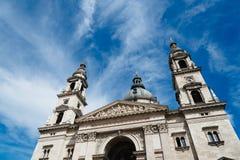Basiliekkathedraal van St Stephen een zonnige dag van de zomer Stock Afbeeldingen