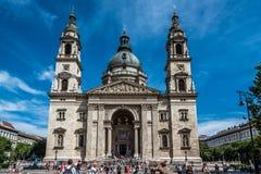 Basiliekkathedraal van St Stephen een zonnige dag van de zomer Royalty-vrije Stock Afbeelding